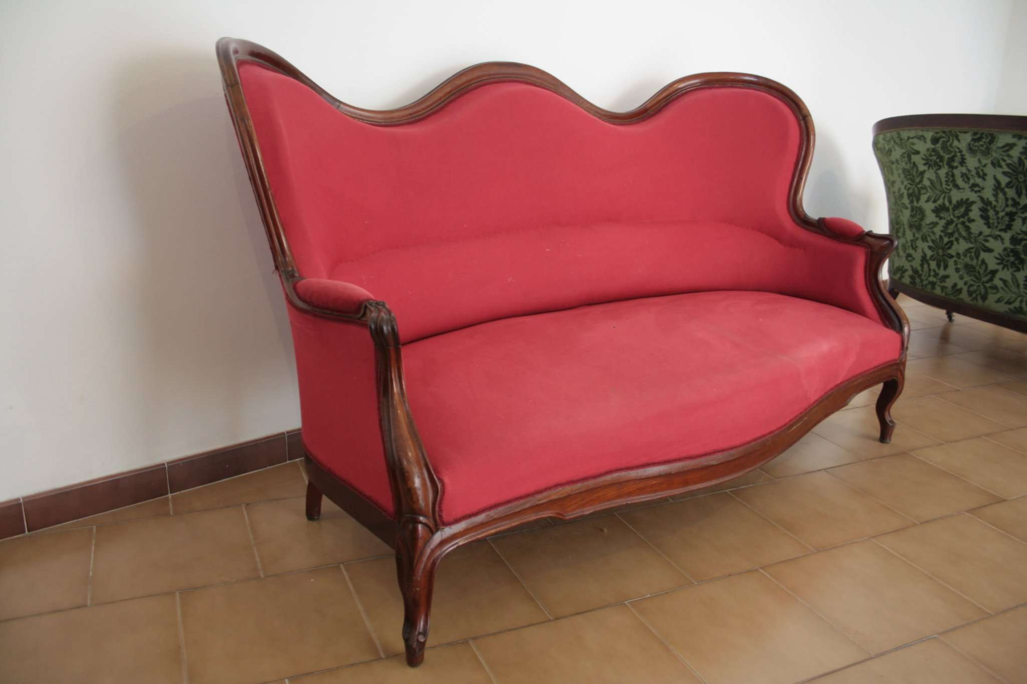 Sofa Louis Philippe In First Patina 1830 1850 Napoli