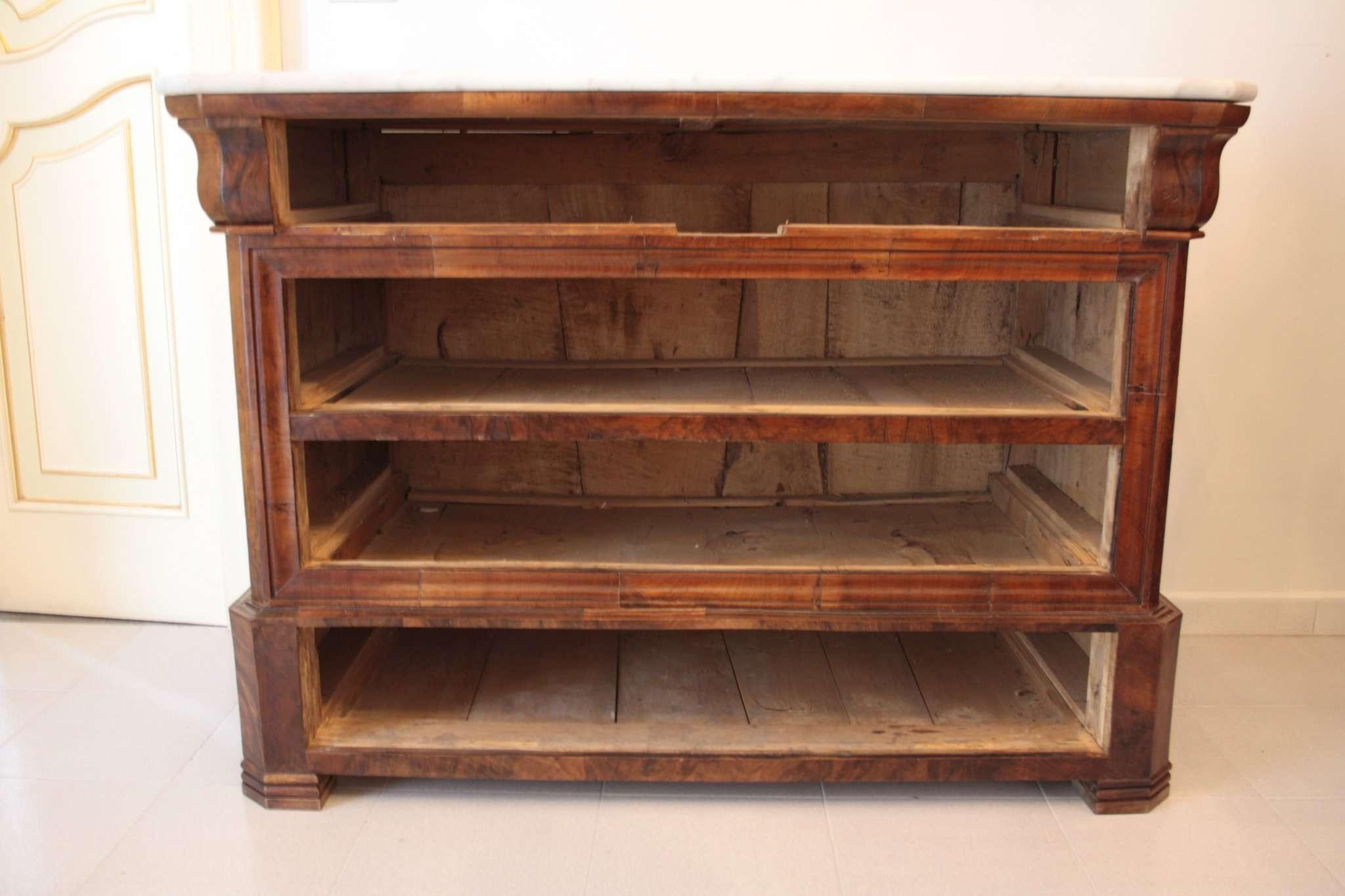 dresser karl x 1825 1835 verarbeitung napoli ebay. Black Bedroom Furniture Sets. Home Design Ideas