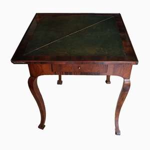 Antique rosewood game table